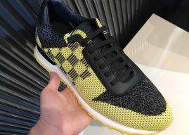 LOUIS VUITTON休闲运动鞋LV2018新款纺织布运动鞋-黄色