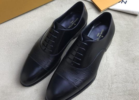 LOUIS VUITTON路易威登男鞋LV商务系带正装皮鞋