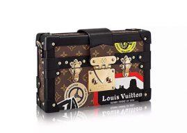 Louis Vuitton Petite Malle盒子包 M50016对版正品复刻
