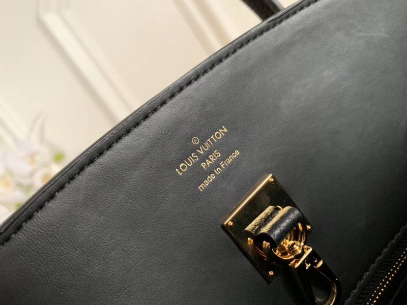 M54346 LV MILLA 小号手袋 Veau Nuage小牛皮女包 LV单肩手提包 黑色