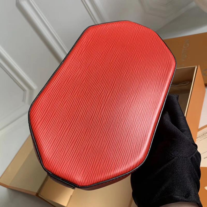 M52927 LV TWIST BUCKET 手袋 LV女包 Twist锁扣包 LV水桶包 红色