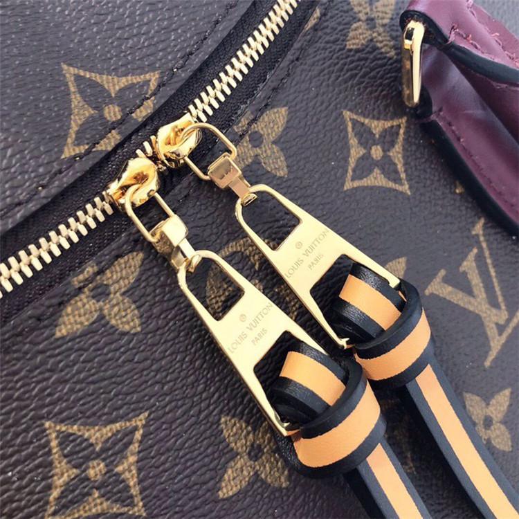 LV包包包包/路易威登女包女包 M41454 老花拼蓝色 Tuileries 手袋