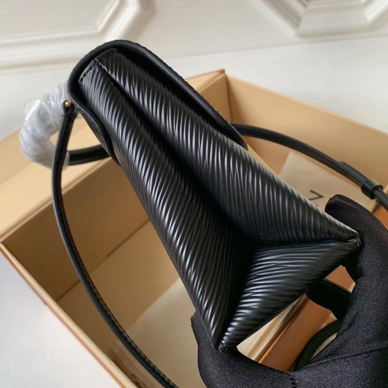 M52880 LV Locky BB 手袋 Epi皮革挂锁包 LV女包 LV手提包 LV单肩包 黑色