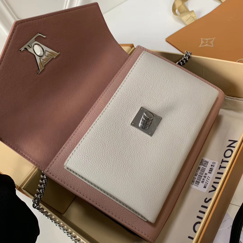 M52777 LV MYLOCKME BB 手袋 LV拼色邮差包 LV校园书包 分配白