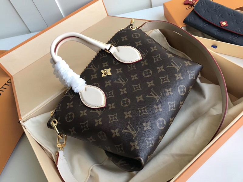 M44359 LV Flower BB 拉链 Tote 手袋 LV女包 单肩手提包