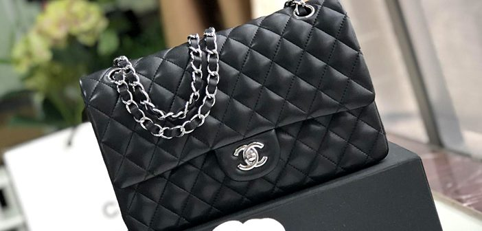 chanel口盖包CF2.55 Classic Flap链条包 越南代工厂出品 黑色银扣